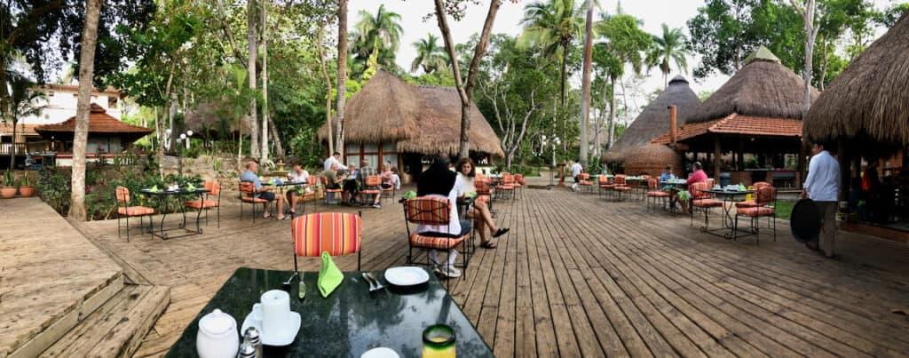 Breakfast at the Mayaland Hotel & Bungalows